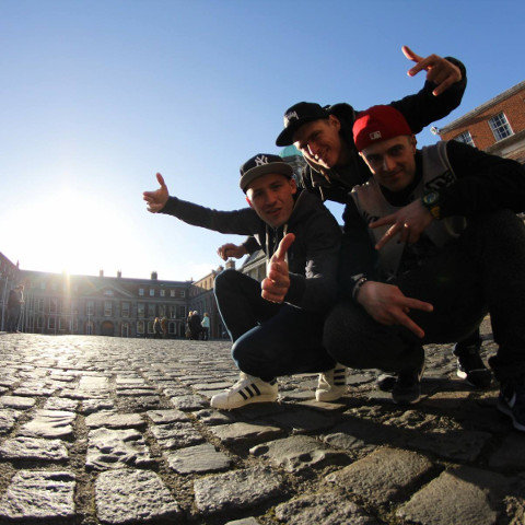 Central English School Students visit Dublin Castle